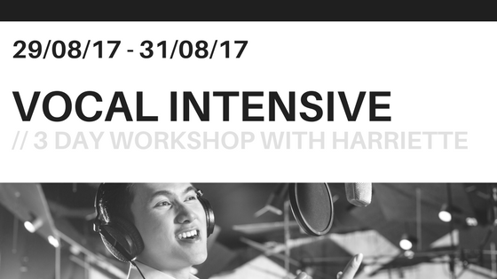 EARLY BIRD discount for the VOCAL INTENSIVE ends in 24 hours!