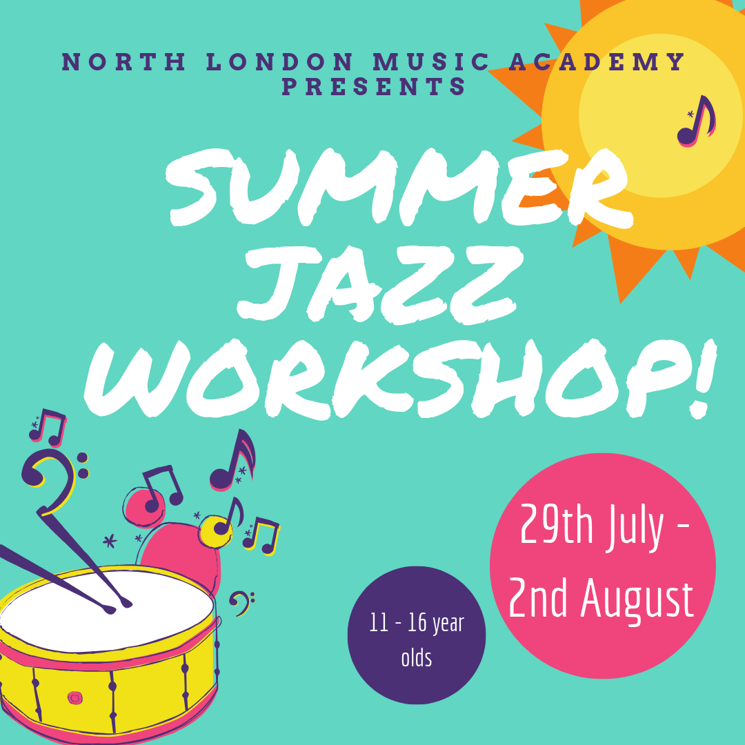 Kids summer workshop at The North London Music Academy!